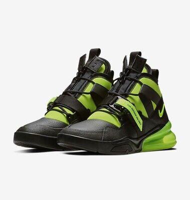 Nike Air Force 270 Utility Max Black Volt Men's Size 11