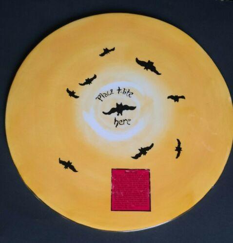 Blue Sky Ghostly Mansion Large Tea Light Plate