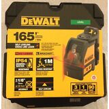 New Dewalt DW088K Self Levelling Line Laser Horizontal & Vertical Lines NIB