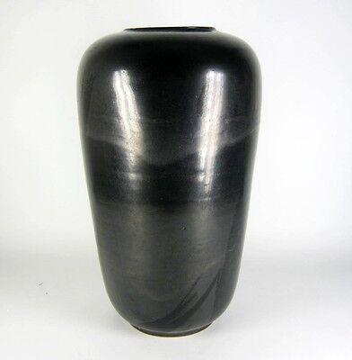 Studio Keramik Vase gemarkt Handarbeit German Pottery Rudolf Lunghardt? 33cm