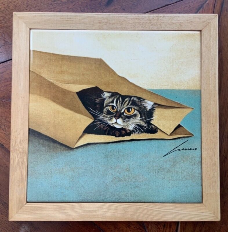 Art Tile Lowell Herrero. Vandor. Made in Japan 1982