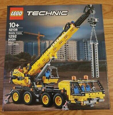 LEGO Technic 42108 Mobile Construction Crane Vehicle 1292 Piece Building Set