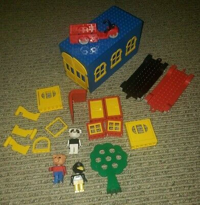 Vintage LEGO Fubuland 3 Minifigures and 20+ Pieces & Parts