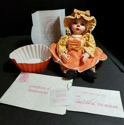 Marie Osmond Doll Pumpkin Spice Rag A Muffin Collector Doll