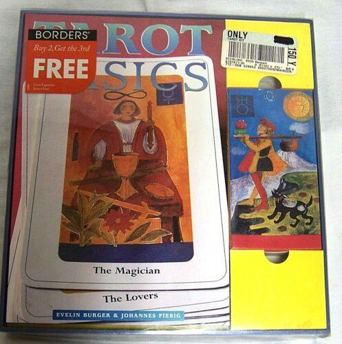 Tarot Basics: Gift Set For Beginners INCLUDES Book & Tarot Cards Burger & Fiebig