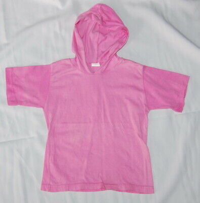 T-Shirt mit Kapuze Gr. 110/116 rosa neuwertig gebraucht kaufen  Lengede
