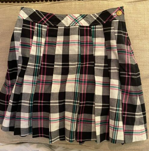 Brooks Brothers Fleece Tartan Skirt, Girls SIze 10