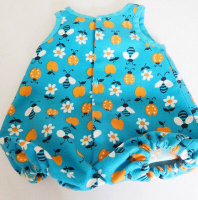 Blue Sun Play Suit Bee, Lady Bug, Apple, Flowers 4 Medium Baby or Toddler (Apple Toddler Doll)