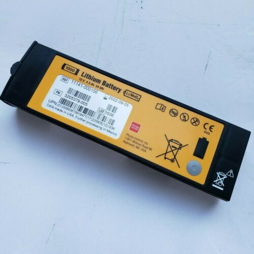 Physio-Control Lifepak 1000 AED Battery 3205379-005 OEM Replacement Expires 2022