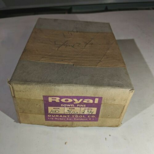"""Pack of 100 - 5/16"""" x 2-3/4"""" Royal Dowel Pins Alloy Steel"""