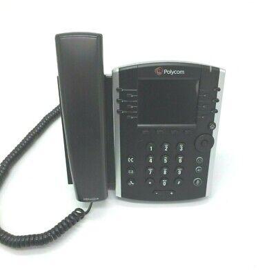 Polycom Vvx 400 2201-46104-001 Business Desktop Phone Poe Handset With Stand