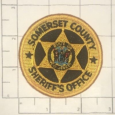 Somerset County Sheriff's Office Patch  - New Jersey