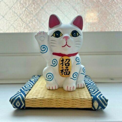 NEW  Maneki Neko Japanese lucky cat fortune cat becking cat set ornament money