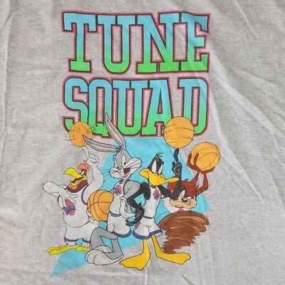 Looney Tunes Men's 2XL Tank Top T-Shirt Licensed Disney Squad Space Jam Movie
