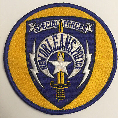 New Orleans Louisiana LA Special Forces Police Sheriff Patch