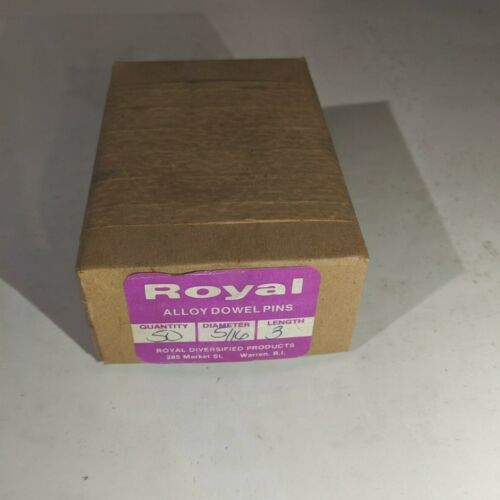 """Pack of 50 - 5/16"""" x 3"""" Royal Dowel Pins Alloy Steel"""