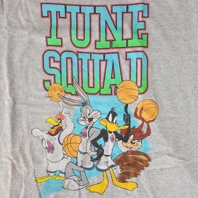 Looney Tunes Men's XL Tank Top T-Shirt Licensed Disney Squad Space Jam Movie