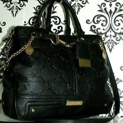 SOUGHT AFTER RIVER ISLAND MESSENGER SATCHEL TOTE GRAB BLACK BAG HANDBAG/PURSE