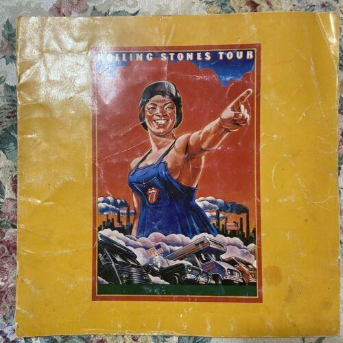 Rolling Stones Some Girls World Tour 1978 Tour Program