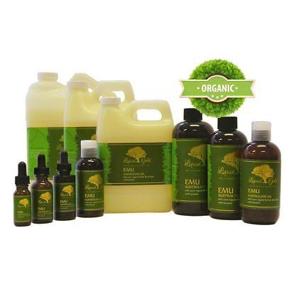 Premium Emu Oil Pure & Organic for Skin Hair and Health Body