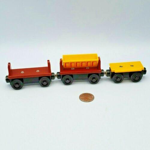 Thomas & Friends Wooden Railway Train Tank Engine Dumper Flatbed Lot - 2 Broken