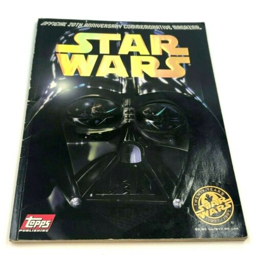 Star Wars Official 20th Anniversary Commemorative Magazine Topps 1997
