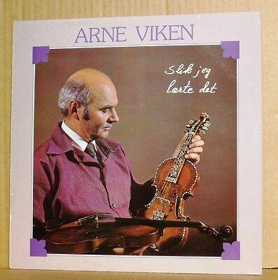 LP Arne Viken  Slik jeg laerte det  Triola 1980