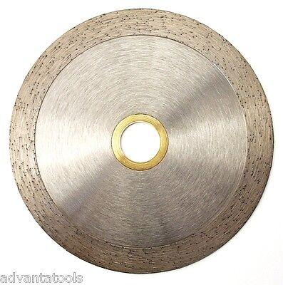 4 Continuous Rim Diamond Saw Blade For Tile Masonry - 78-58 Arbor