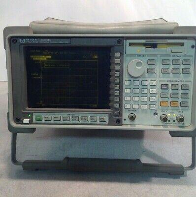 Hp 35670a Dynamic Signal Analyzer Opt. 1c2 Ufc Uff