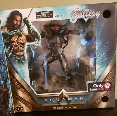 NIB Diamond Gallery DC Aquaman - Black Manta GameStop Exclusive Statue Figure