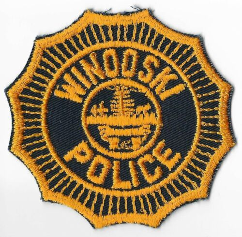 Winooski Police Department, Vermont Shoulder Patch
