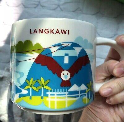 Starbucks 2019 Malaysia LANGKAWI City Collection 14oz Mug Cup Set