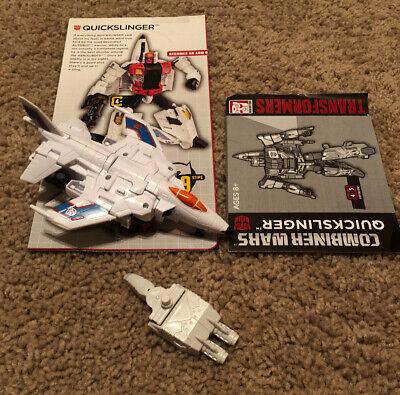Transformers Generations Combiner Wars G1 Quickslinger Slingshot Superion W/ HFG