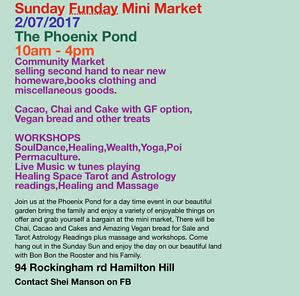 Sunday Funday Mini Market Hamilton Hill Cockburn Area Preview