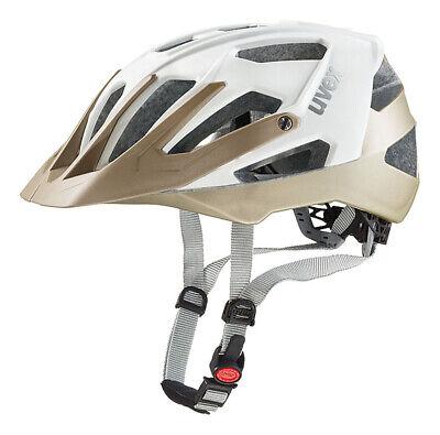 Uvex Quatro MTB Fahrrad Helm Gr. 52-57cm weiß/champange 2017
