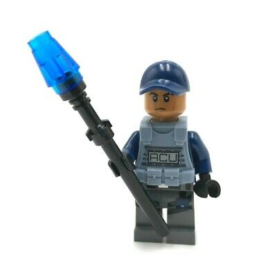 LEGO  ACU Trooper minifigure Jurassic World 71205 dinosaur minifig mini figure