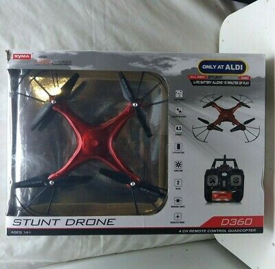 Syma D360 Dido Drone & Quadcopter Controller Transmitter for Parts or Repair