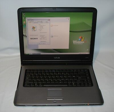 "Sony VGN-A 260 Intel Pentium M 1.60GHz/15.4"" LCD/ Wi-Fi /2GB Ram/DVD±RW/80GB HDD"