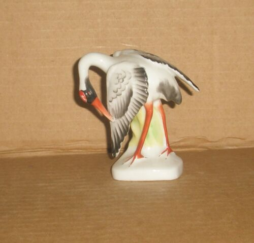 Bird Figurine Dancing Crane