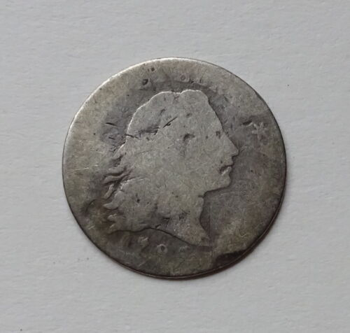 1795 Flowing Hair Half Dime - Strong Date - RARE