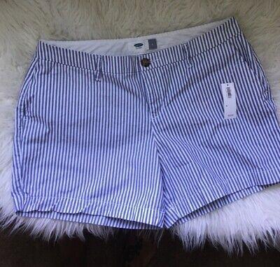 Old Navy Striped Everyday Shorts, Size 6