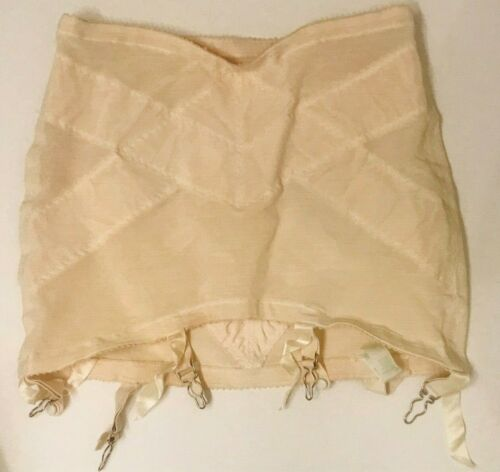 Vintage Gossard Girdle Garters Opened Bottom Sz 31