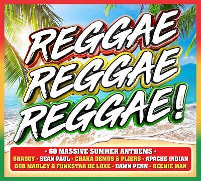 REGGAE REGGAE REGGAE (Various Artists) (Best Of) 3 CD SET