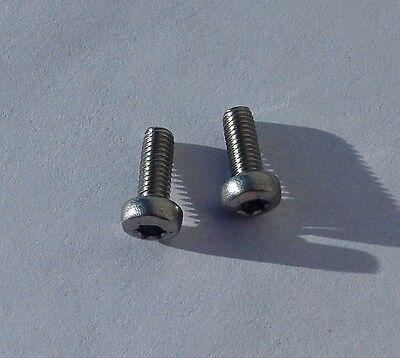 50 - M3-0.5 x 8 mm Stainless Screws Six-Lobe (Torx) Pan Head