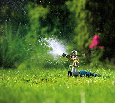 Professional Metal Impulse Sprinkler Water for Garden Lawn Grass Plant Watering