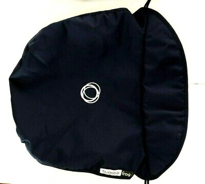 Navy Blue Bugaboo Frog Carrycot Apron Cover with Quilt Lining.....
