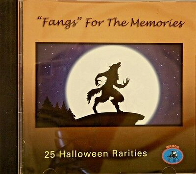 'FANGS' FOR THE MEMORIES - 25 Halloween Rarities - Fangs For Halloween