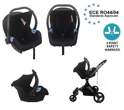 Baby Car Seat Group 0+, 0-12 Months, 0-13 kg, Nomad Black Light...