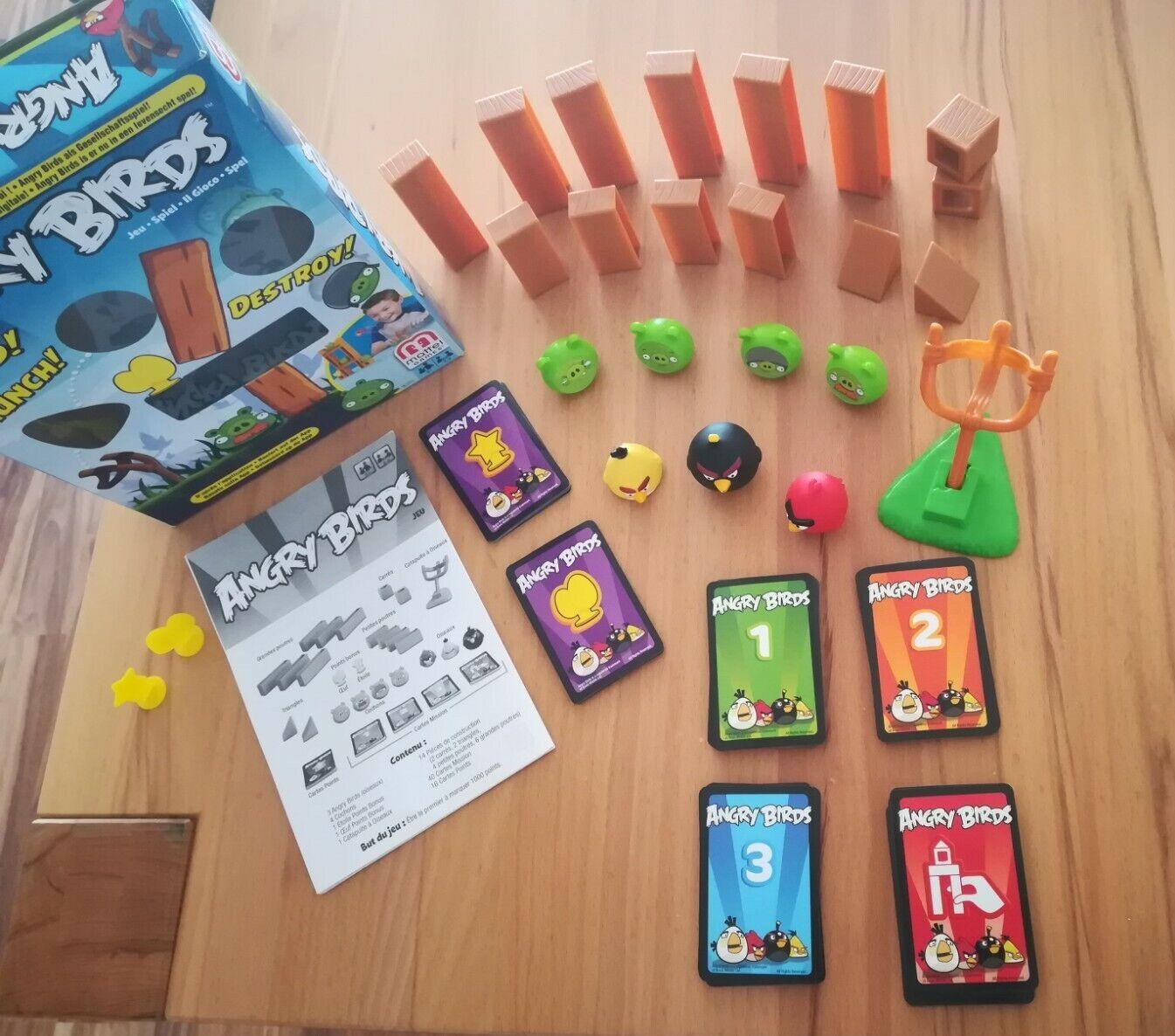 Angry Birds Spiel, Mattel
