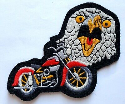 """VTG NEW INDIAN MOTOCYCLE Patch Classic Scout Motorcycle Screaming Eagle Head 4"""""""